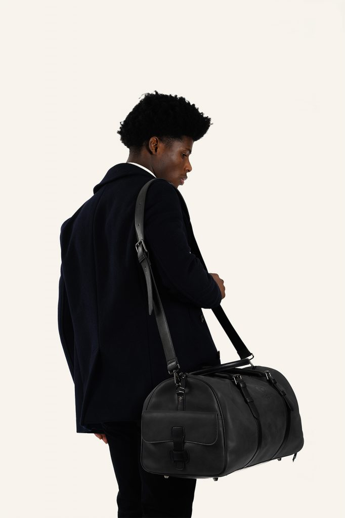 kingsman leather duffel bag