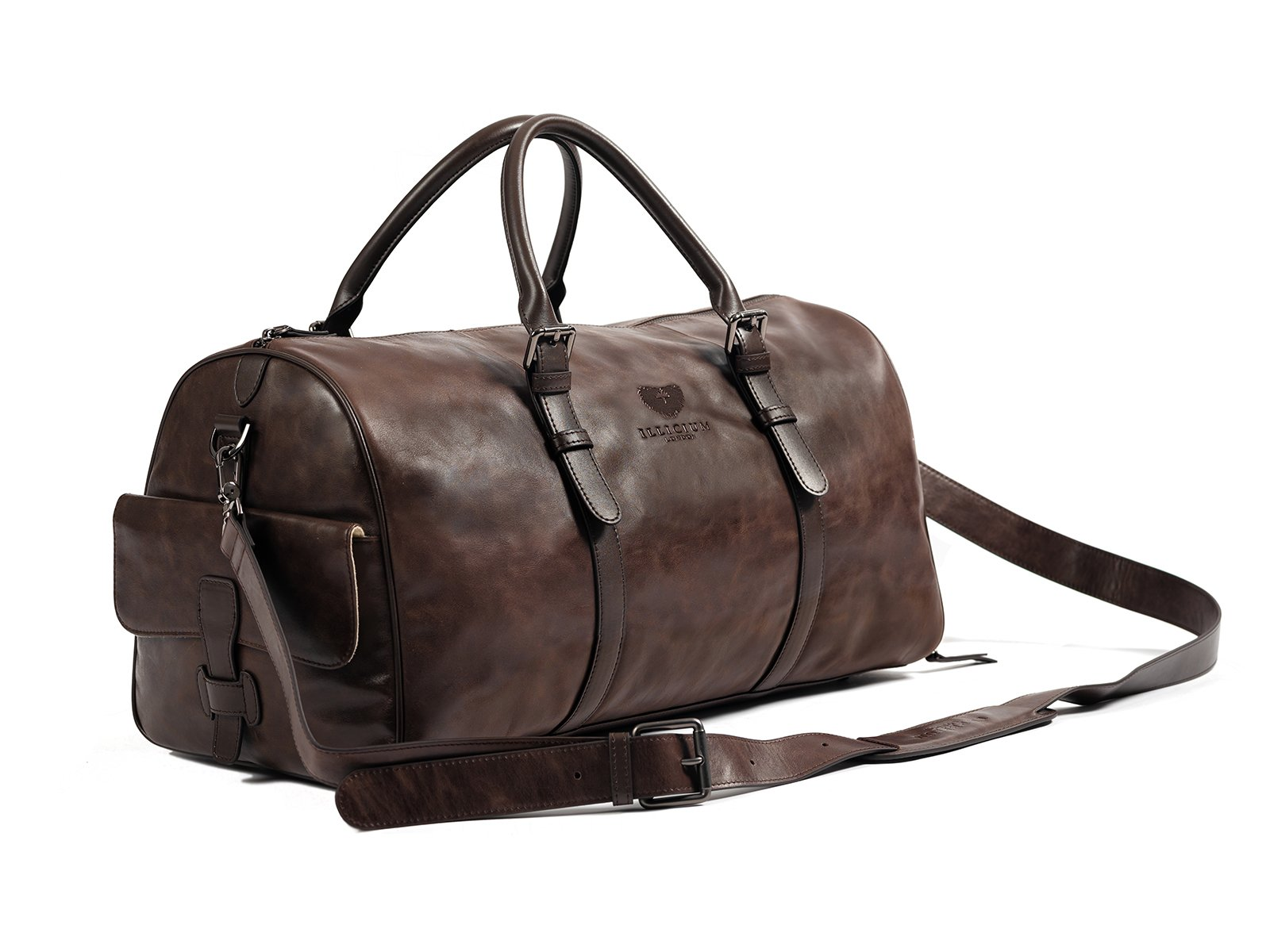 Kingsman dark brown duffle bag